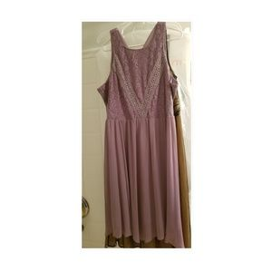 Dressbarn lavender ish dress